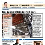 Rail Yards compromise on track