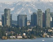 Who's fastest growing in the city of Bellevue, seen here from Lake Washington