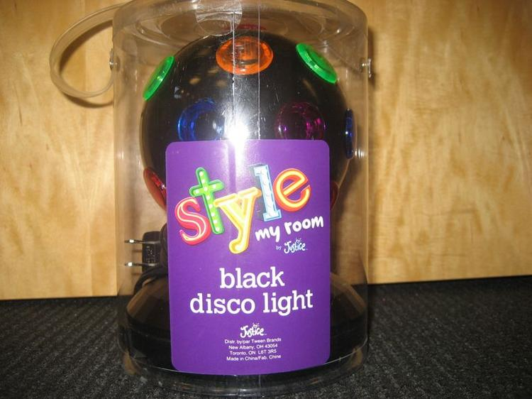 """Tween Brands is recalling its """"Style my Room by Justice"""" disco lights because of electrical shock hazard."""