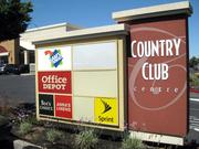 The Walmart-anchored Country Club Centre in the Arden Arcade area is being marketed for sale.