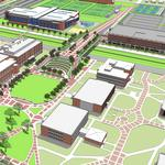 University of Memphis plots course for campus-centric universe