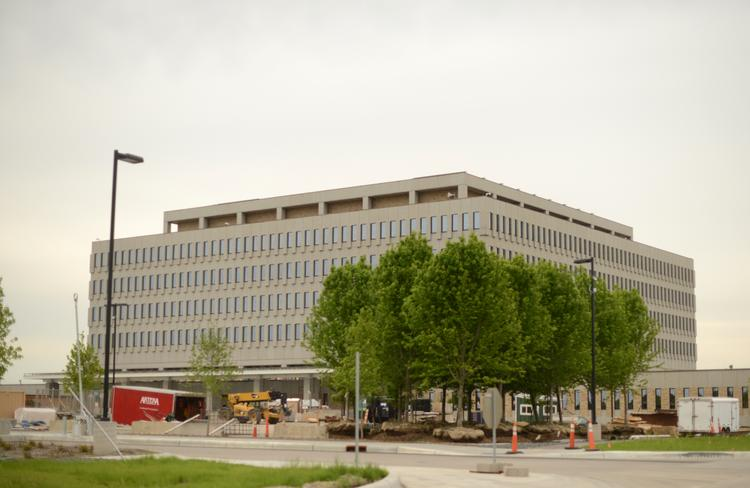 The Whipple Federal Building is still undergoing an increasingly costly renovation as 'green' features are added to the project.