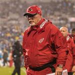 Arizona Cardinals' <strong>Bruce</strong> <strong>Arians</strong> and Todd Bowles honored with coaching awards