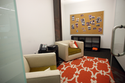 A private room at Jama Software provides meeting space as well as a spot for employees to hold private conversations.