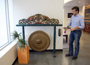 At Jama Software, CEO Eric Winquist clangs a gong to signal major new accounts.