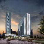 Trammell Crow Co., Metlife unveil luxury towers next to Klyde Warren Park