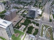 The 3-acre site north of Klyde Warren Park will house two new luxury towers, including a Class A office tower and a residential tower. The new development will have a park-like design to play off the adjacent Klyde Warren Park design.