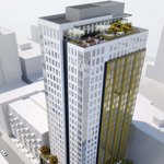 Countdown to construction of 26-story apartment next to Amazon headquarters