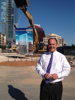 Cousins breaks ground on downtown Austin office tower