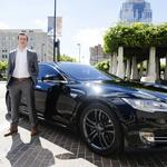 EXCLUSIVE: Cincinnati company takes on Uber... by driving you in a Tesla