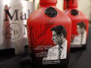 Commemorative bottles featuring University of Louisville men's basketball coach Rick Pitino previously were released by Maker's Mark Distillery Inc.