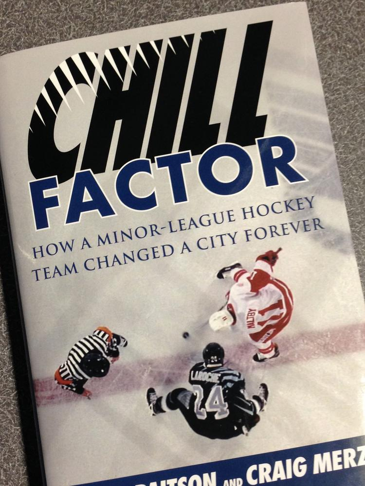 Columbus Chill GM David Paitson on his new book Chill Factor, the ...