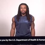 Seahawks players Russell Wilson, <strong>Richard</strong> <strong>Sherman</strong> give Washington health exchange a boost in pro-bono promos
