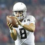 Hawaii-born <strong>Marcus</strong> <strong>Mariota</strong> drafted by NFL's Tennessee Titans