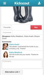 Kickscout learns painful lessons about social shopping, comes out of beta