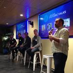 Despite the football game, New Relic's Future Talks series debuts to a packed house in Portland
