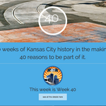 What is KC's 40 Weeks Pledge?