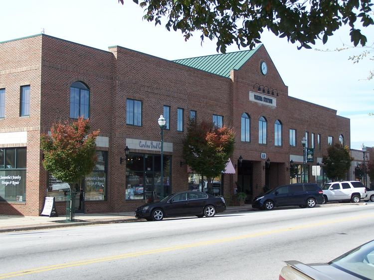 The mixed-use Varina Station building at 500 E. Broad St. sold for $2.8 million.