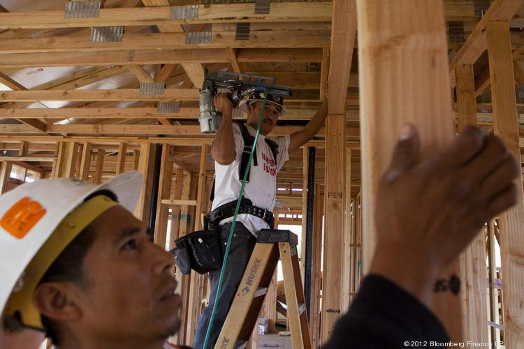 Construction jobs are growing in Portland.