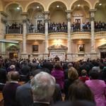 Larry Hogan, Md. lawmakers agree to 'work together' as General Assembly session begins