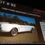 Our tech reporter auctioned off with '65 Mustang at Barrett-<strong>Jackson</strong> (Video)