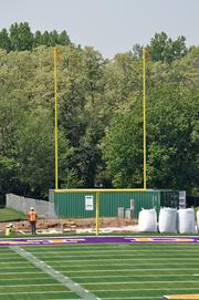 UAlbany is halfway toward raising $1 million to name the field Bob Ford Field, after head coach Bob Ford (who will begin his 44th season at the school this fall).