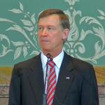 Text: Hickenlooper's State of the State speech