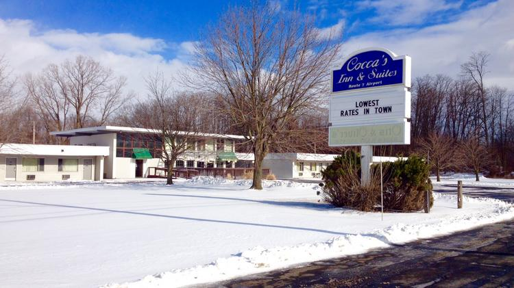 The 9.6 Acre Site That Includes Coccau0027s Inn And Suites On Route 7 In Latham