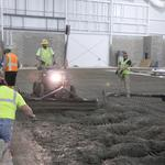Base poured at Lemieux rink in Cranberry