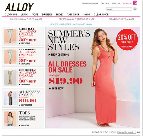 41bcbc2c914 Delia s sells Alloy brand for  3.7 million - New York Business Journal