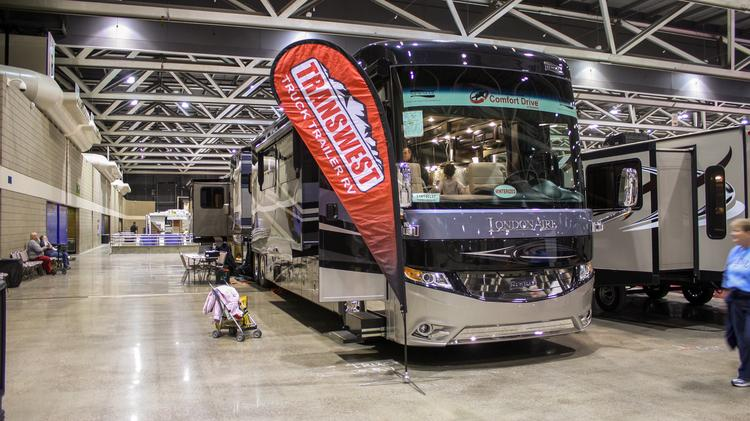Rv Show Invades Bartle Hall Tour A 521k Rv Kansas City