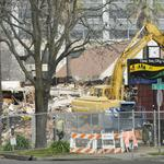 Former Mercury Cleaners demolished, site clean-up research next