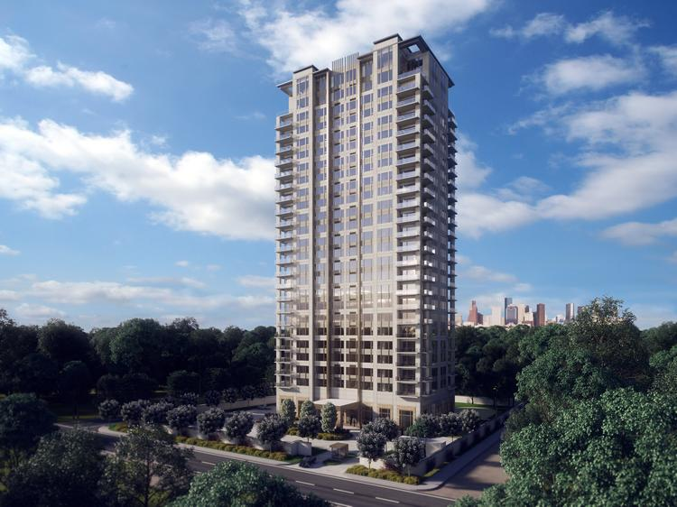 Inter-Pier LLC is building a 26-story luxury condo development with only two units per floor.  Click through the slideshow to see more renderings of the tower.