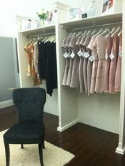 The boutique will focus on cocktail and party dresses for women between the ages of 30 and 50.
