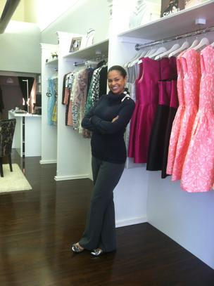 Katja Barfield opened K. Anthony's, a high end clothing boutique, Monday.