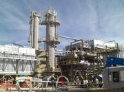 DCP Midstream Partners LP's natural gas processing plant in Kersey, Colorado.