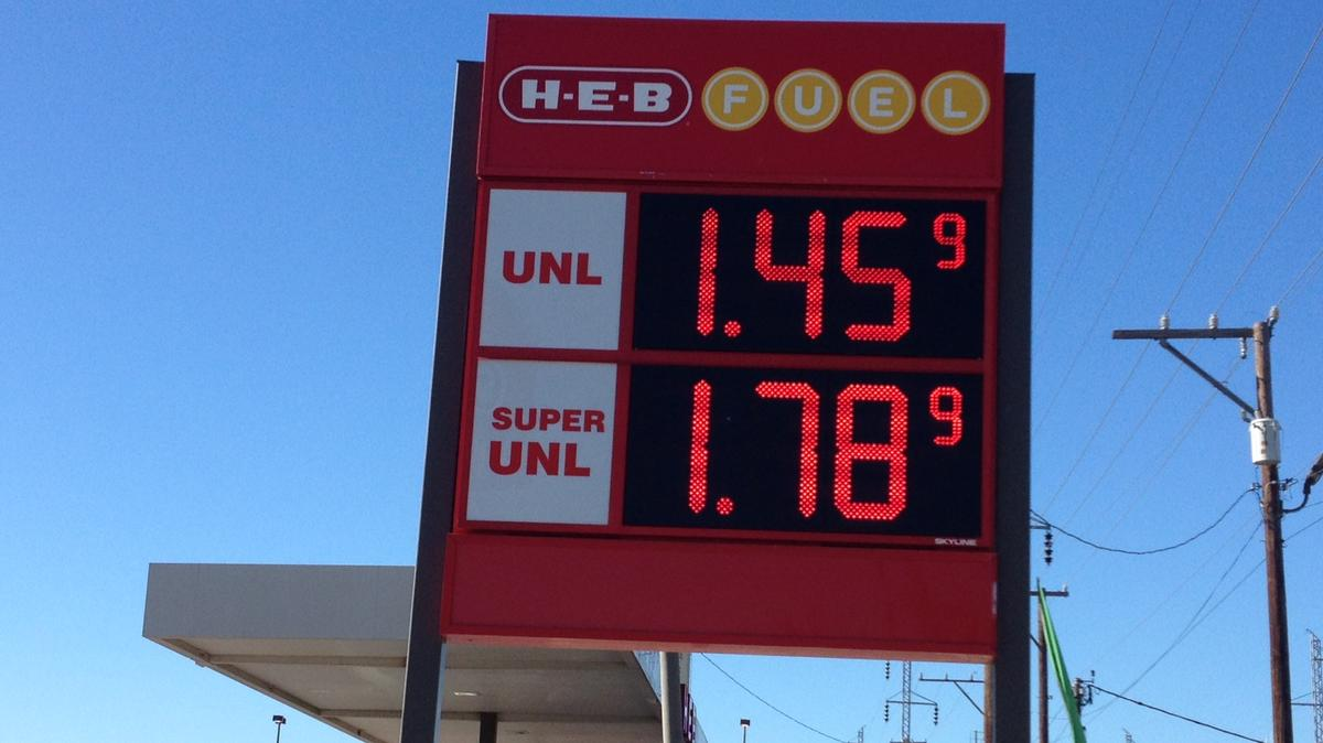San Antonio Gas Prices >> Gas Prices Fall To 1 45 In San Antonio San Antonio