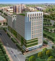 Alexandria has offered incentives that would support the development of a new headquarters for the National Science Foundation at two prospective sites, including Carlyle Plaza at 765 John Carlyle St.
