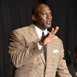 Michael Jordan in tears as he accepts Business Person of the Year honor