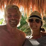 She spent a week with <strong>Richard</strong> Branson on a private island. Here are 5 business lessons she'll never forget