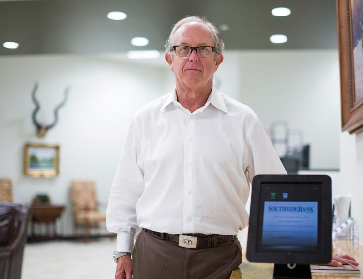Peter Boyd, regional president for Central Texas at Southside Bank, said that with iPads incorporated in the bank's lobbies, the need for tellers is greatly reduced.