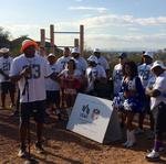 NFL Pro Bowlers team up with Valley of the Sun United Way for fitness trail (Video)
