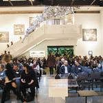 Standing room only as CreativeMornings debuts in Louisville