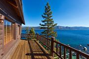 A Lake Tahoe estate that once belonged to Howard Hughes is on the market for $19.5 million.