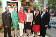 "CBJ Seen: On May 21, Charlotte Chamber President Bob Morgan awarded completion certificates to 14 graduates of the chamber's first Emerging Business Leaders class at Northeastern University – Charlotte. Pictured here, from left: Rod Garvin, Julia Walton, Cheryl Richards, Keva Walton, Diane Johnson, Vince Berkeley, Peg Bernhard, Bob Morgan. Want to have your company's events featured in CBJ Seen? Submit them to Alison Angel at aangel@bizjournals.com for consideration. Be sure to include caption information, and put ""CBJ Seen"" in the subject line."