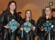 "From our CBJ Seen feature: Carolinas College of Health Sciences graduated 87 students in medical imaging, nursing and surgical technology on May 3. The commencement speaker was N.C. Rep. Ruth Samuelson. From left: Nursing graduates Elizabeth Kraft, Mary Egan and Cecelia Robinson. Want to have your company's events featured in CBJ Seen? Submit them to Alison Angel at aangel@bizjournals.com for consideration. Be sure to include caption information, and put ""CBJ Seen"" in the subject line."