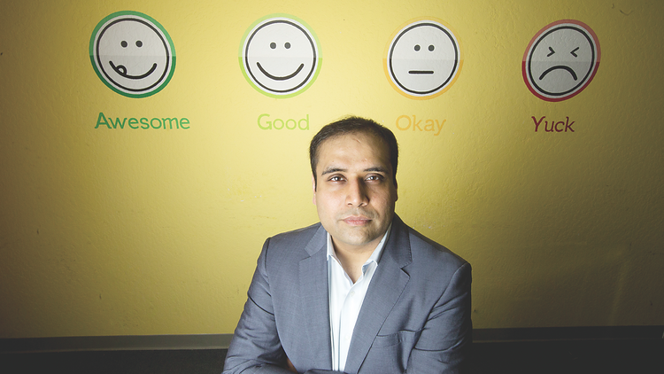 DropThought, led by CEO Karan Chaudhry, has developed a way for companies to see trends among customers, in real time. | Headquarters: Santa Clara | CEO: Karan Chaudhry | Founded: 2012 | Employees: 20 | Web: www.dropthought.com | Phone: 408.642.1326