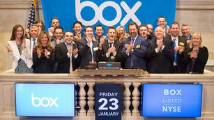 Box blasts out of the gate in NYSE debut
