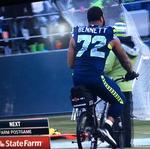 Seattle PD to auction off the bicycle Seahawks lineman Michael Bennett rode after epic win