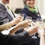 Companies planning holiday parties — scaled-down versions, that is